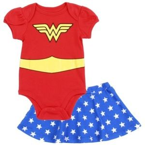 Wonder Woman Skirt Set